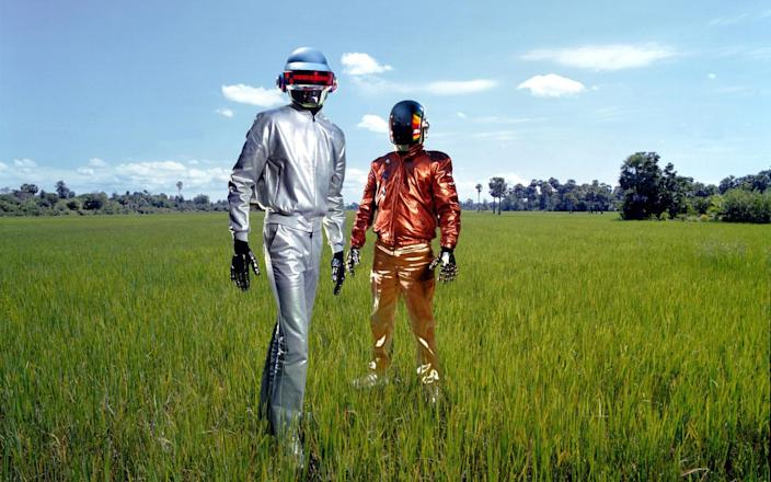 Daft Punk, who announced their split on February 22