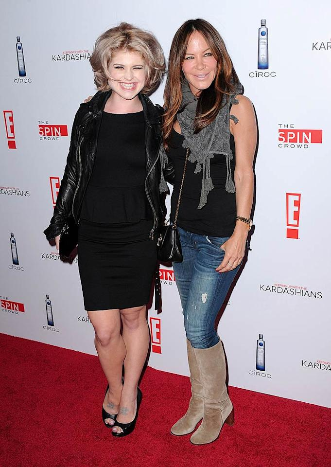 "Kelly Osbourne also showed up for the soiree looking like she'd just lost a fight with her hair dryer, while Pussycat Dolls founder Robin Antin dressed down in ripped jeans and suede knee-high boots. Jordan Strauss/href=""http://www.wireimage.com"" target=""new"">WireImage.com - August 19, 2010"