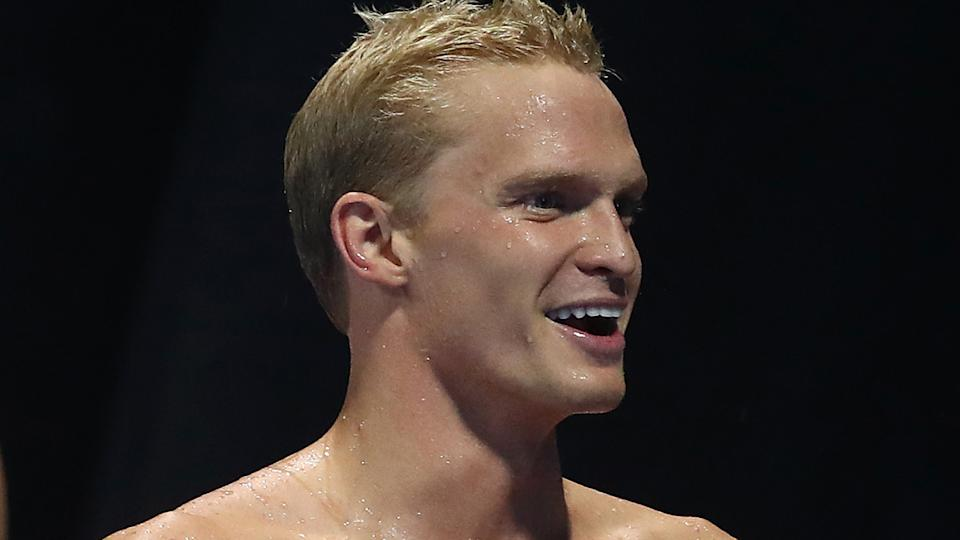Cody Simpson impressed at the recent Australian Swimming Championships in April, but wasn't anywhere near the selection frame for the Tokyo Olympics. (Photo by Chris Hyde/Getty Images)