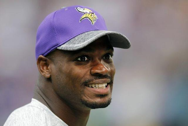 Adrian Peterson is scheduled to visit the Saints next week. (AP)