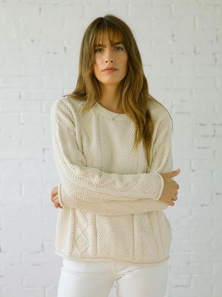 The Tradlands Modern Fisher Sweater
