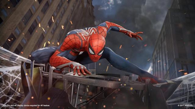 'Spider-Man' is swinging onto the PS4 in 2018.