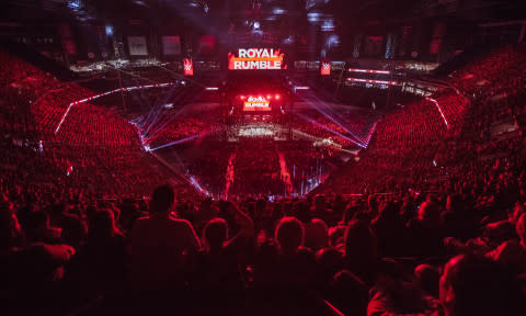 Houston to Host the 2020 WWE® Royal Rumble®