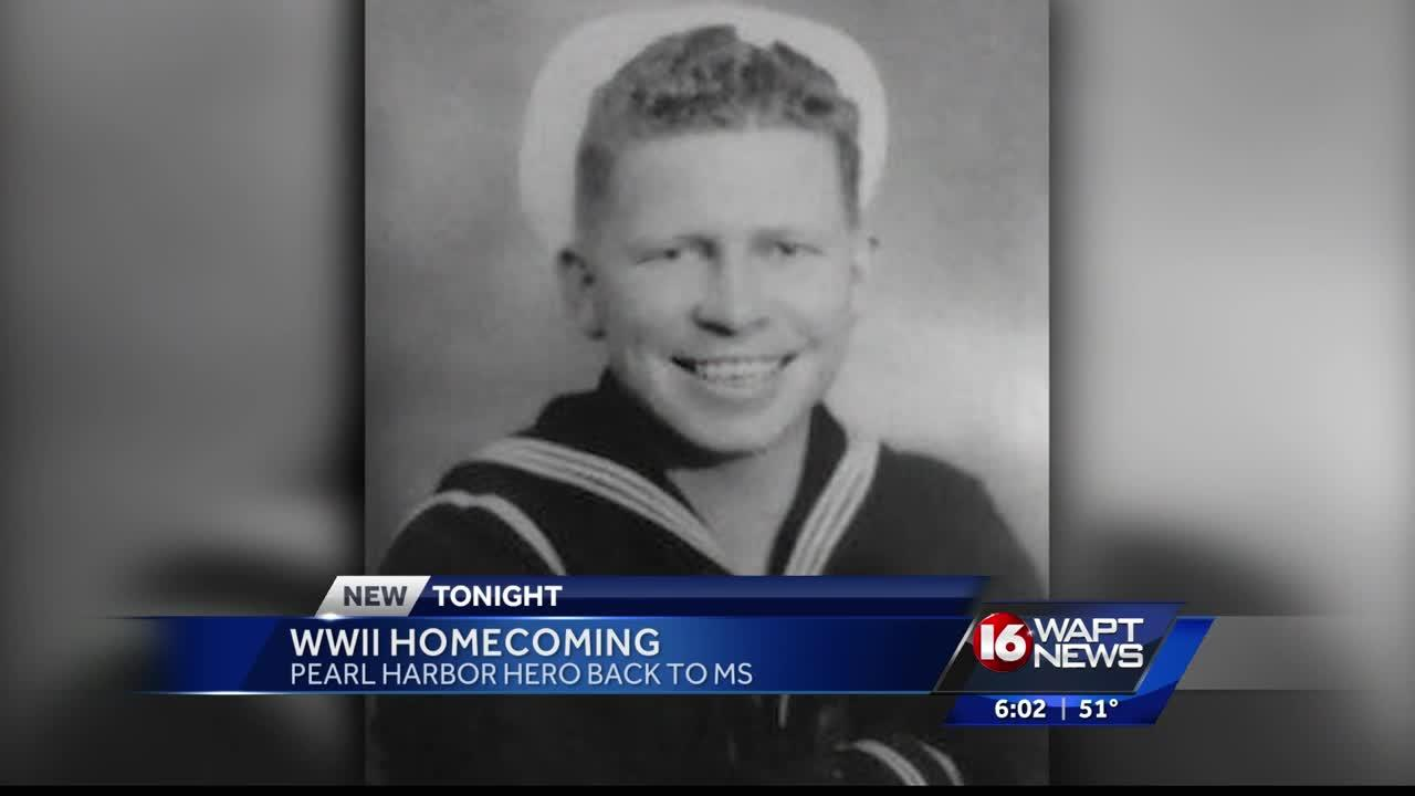 A young Mississippi sailor is finally coming home seventy-five years after he was killed in the surprise Japanese attack on Pearl Harbor.