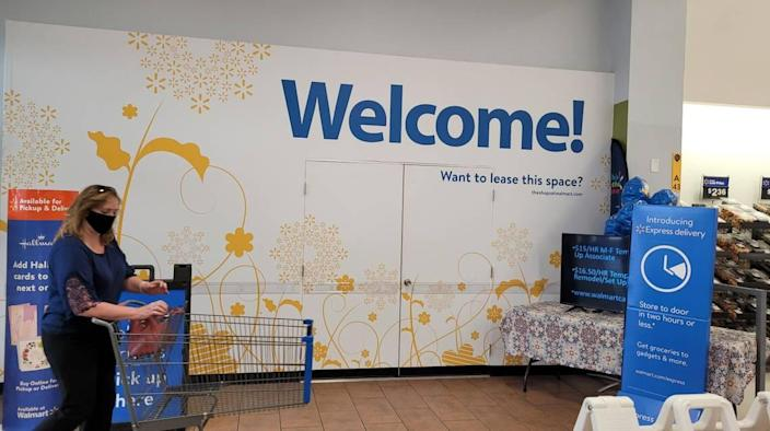 Wal-Mart boarded the space where McDonald's runs a restaurant inside a store on 8300 W. Overland Road in Boise. The company aims to replace the hamburger chain with another restaurant.