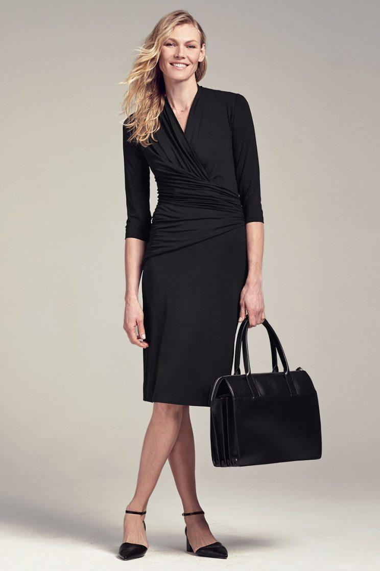 MM LaFleur's LBD wrap dress
