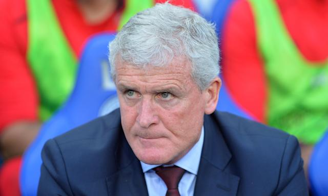 Mark Hughes says of the FA Cup: 'It's the greatest cup competition in the world in my view.'