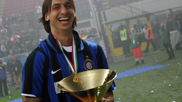 Ibrahimovic Inter trophy 2