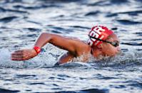 <p>24-year-old Alice Dearing made history when she became the first female black swimmer to compete for GB. She placed 19th in the 10km marathon swim, but while she didn't take home a medal, her participation alone is certainly something to celebrate. </p>