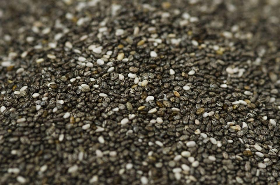 <p>Chia seeds! Sunflower seeds! Sesame seeds! Flax seeds! Poppy seeds! They're also a super fancy way to dress up veggies or meat that need to be coated and cooked.</p>
