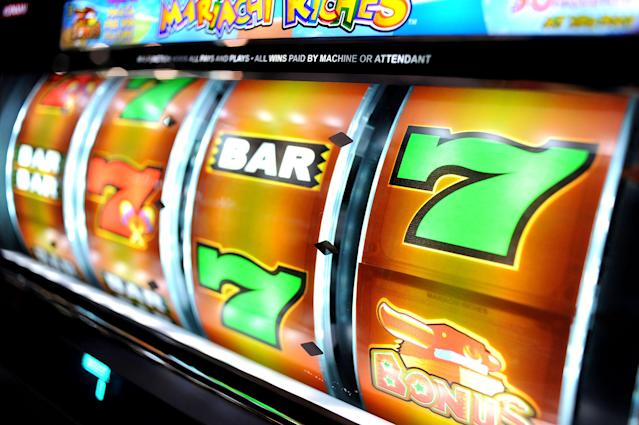 A slot machine in the Las Vegas Convention Center on Nov. 16, 2009. (Photo: Jacob Kepler/Bloomberg News/Getty Images)