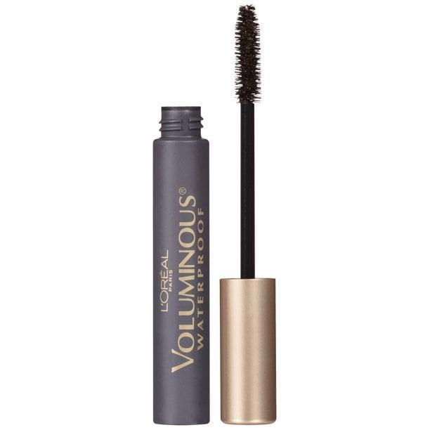 """<p>""""The <span>L'Oreal Paris Voluminous Original Waterproof Mascara</span> ($7) is an amazing drugstore product that I use on my brides, photo-shoot models, and celebrity clientele. It is waterproof and will not transfer onto the face or eyelids due to tears, humidity, sweat, or heat from intense lighting. It's a great affordable, long-wearing, waterproof mascara."""" - <a href=""""https://www.instagram.com/lauren_damelio/"""" class=""""link rapid-noclick-resp"""" rel=""""nofollow noopener"""" target=""""_blank"""" data-ylk=""""slk:Lauren D'Amelio"""">Lauren D'Amelio</a>, celebrity makeup artist</p>"""