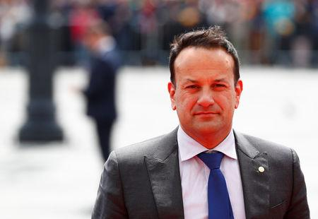 FILE PHOTO: Ireland's Prime Minister (Taoiseach) and Defence Minister Leo Varadkar arrives for the informal meeting of European Union leaders in Sibiu, Romania, May 9, 2019. REUTERS/Francois Lenoir