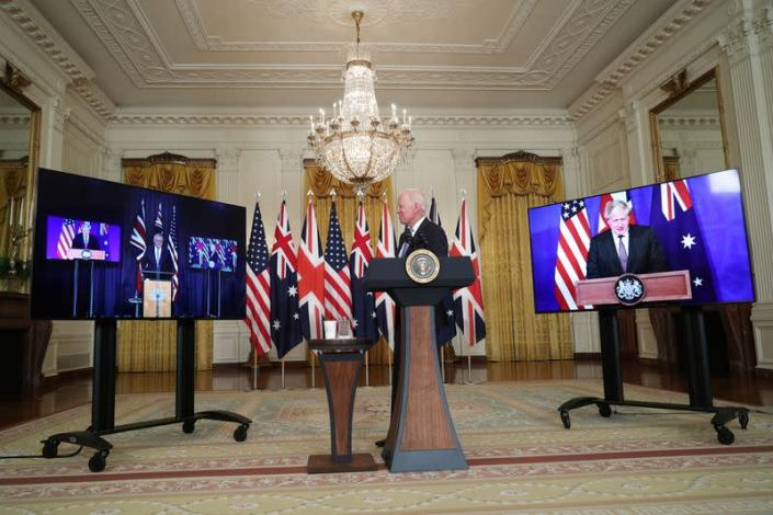 President Biden delivers remark on National Security at the White House