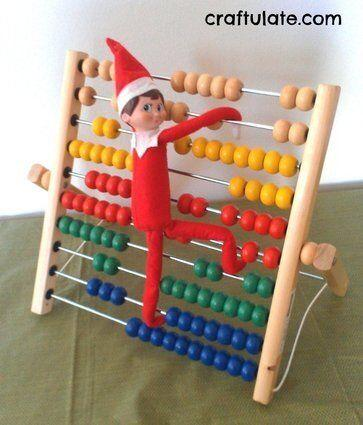 "<p>Elves have to learn too -- and they can do it with your child's abacus, or another favourite educational toy.</p> <p>Source: <a href=""http://craftulate.com/wp-content/uploads/2013/12/IMAG2587e-876x1024.jpg"" target=""_blank"">Craftulate</a></p>"