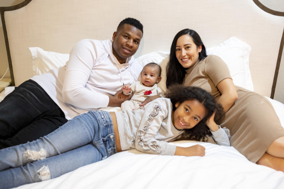 Jennica Harris and her family. (Jennica Harris)
