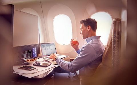 Avoiding business class will make a small difference - Credit: Hywell Waters