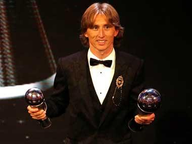 Real Madrid midfielder Luka Modric adds Croatian sportsperson of the year to ever-growing list of accolades