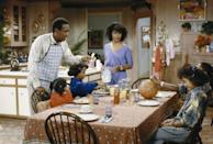 <p>As demonstrated by the Huxtables on <em>The Cosby Show</em>, the kitchen has become a space for hanging out — countertops are a great spot to do your homework, or watch some TV. </p>
