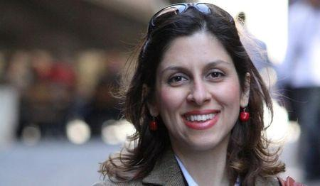 Iranian-British aid worker Nazanin Zaghari-Ratcliffe is seen in an undated photograph handed out by her family. Ratcliffe Family Handout via REUTERS