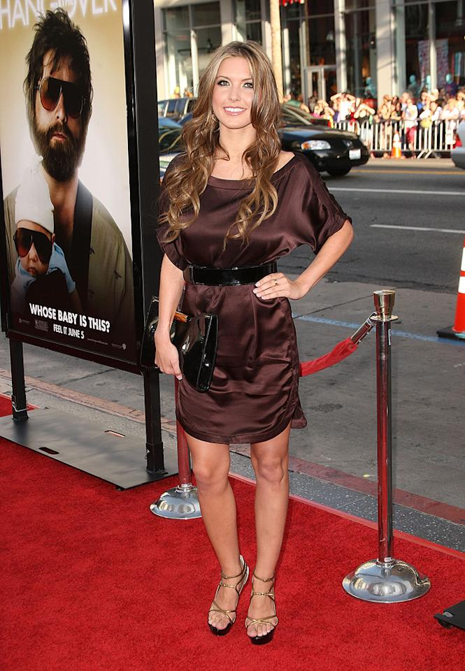 """<a href=""""http://movies.yahoo.com/movie/contributor/1810078068"""">Audrina Patridge</a> at the Los Angeles premiere of <a href=""""http://movies.yahoo.com/movie/1810044687/info"""">The Hangover</a> - 06/02/2009"""