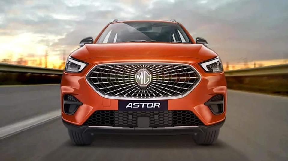 2021 MG Astor SUV, with high-tech features, revealed in India