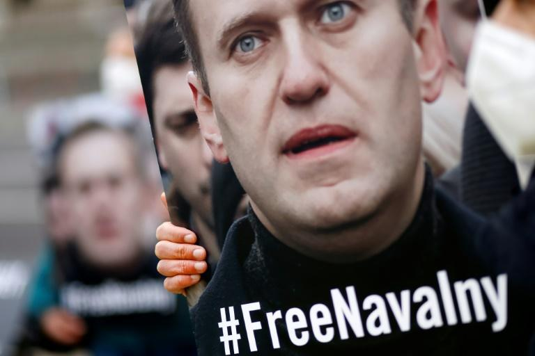 Alexei Navalny was arrested in January upon returning from Germany after recovering from a nerve agent poisoning attack he says was orchestrated by the Kremlin