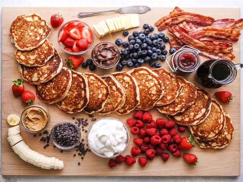 Pancake Boards Are the Newest Instagrammable Brunch Trend