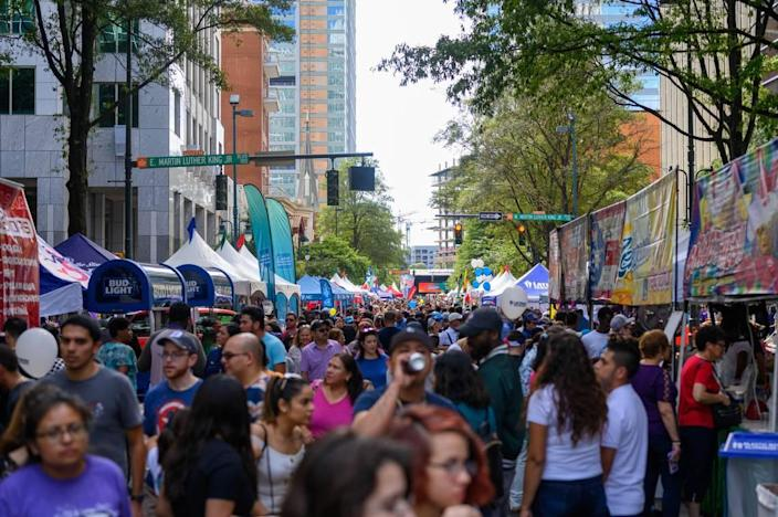 The Hola Charlotte Festival is returning to an in-person event uptown in 2021.