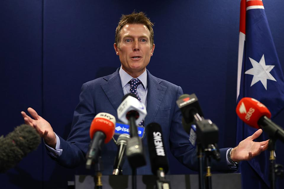 Christian Porter was accused of a historical rape charge, which he denies. Source: Getty