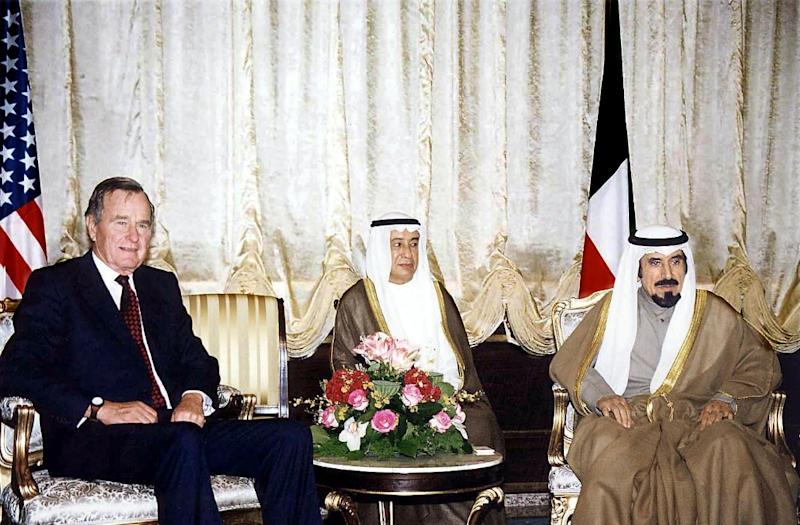 Kuwait Pays Tribute To Bush For Gulf War Support