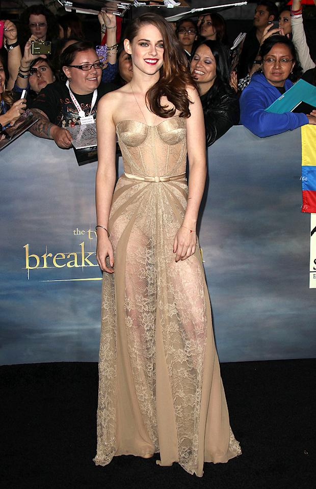 'The Twilight Saga: Breaking Dawn Part 2' premiere at Nokia Live.