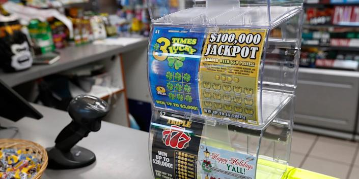 mississippi lottery tickets