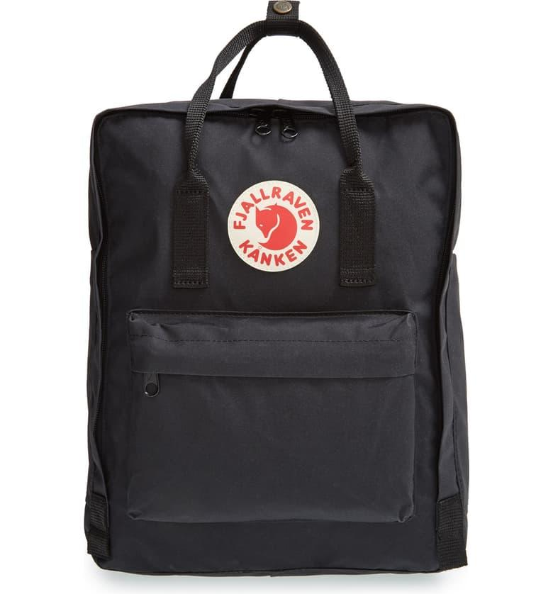 Fjällräven Kånken Water Resistant Backpack in black