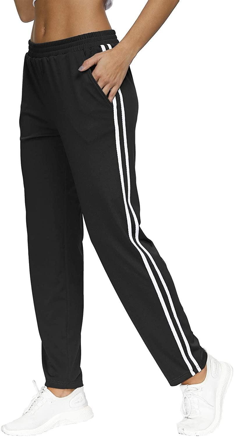 <p>You can't go wrong with these classic <span>BLEVONH Elastic Waistband Striped Sweatpants</span> ($16-$27).</p>