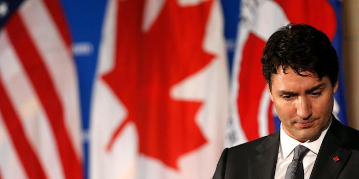 Justin Trudeau frown Canada