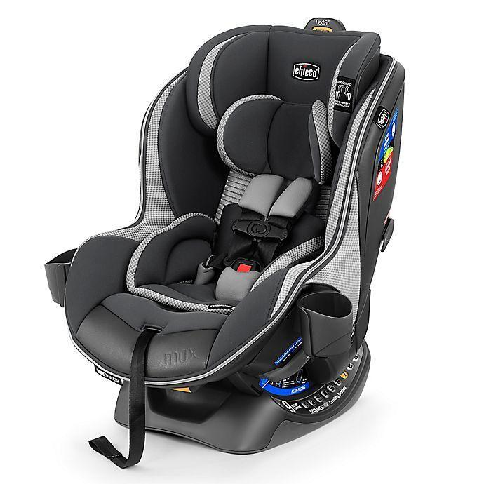 """<p><strong>Chicco</strong></p><p>buybuybaby.com</p><p><strong>$369.99</strong></p><p><a href=""""https://go.redirectingat.com?id=74968X1596630&url=https%3A%2F%2Fwww.buybuybaby.com%2Fstore%2Fproduct%2Fchicco-reg-nextfit-reg-zip-max-air-convertible-car-seat-in-atmos%2F5288111&sref=https%3A%2F%2Fwww.goodhousekeeping.com%2Fchildrens-products%2Fg36283379%2Fbest-convertible-car-seats%2F"""" rel=""""nofollow noopener"""" target=""""_blank"""" data-ylk=""""slk:Shop Now"""" class=""""link rapid-noclick-resp"""">Shop Now</a></p><p>This model from Chicco offers straightforward installation via LATCH or your vehicle's seat belt with a 9-position recline as well as a 9-position headrest adjustment to help achieve the best angle for your baby. It has a <strong>mesh backrest for added ventilation, and our pros particularly loved the washable zip-off seat padding</strong>. Combined with the dishwasher-safe cup holders, it's easy to clean up car seat messes. </p>"""