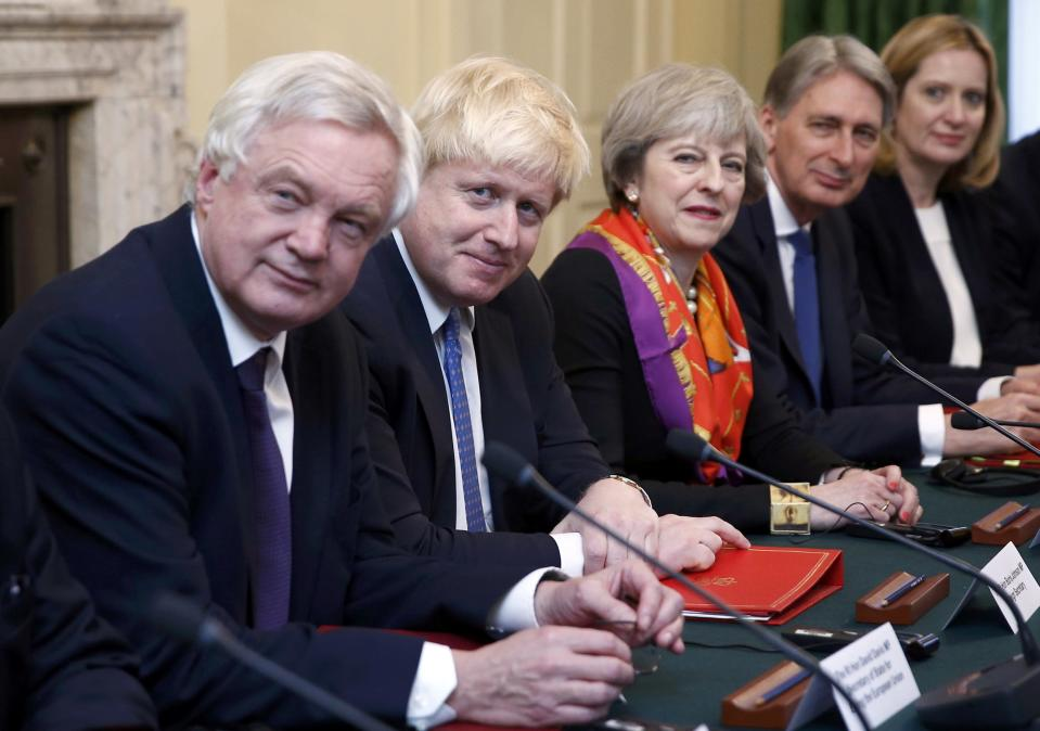 The government has been encouraging UK business leaders to sign a letter supporting Brexit (Peter Nicholls – WPA Pool /Getty Images)