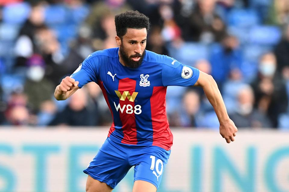 Andros Townsend has joined Everton after leaving Crystal Palace (Getty Images)
