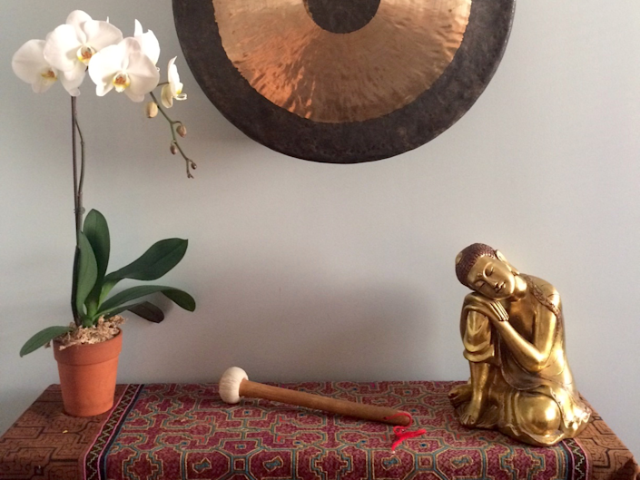 Gong Orchid Buddha 2