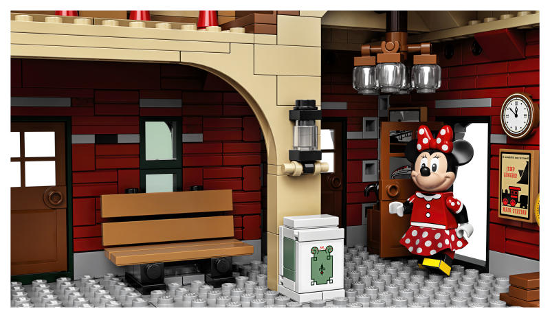 Minnie Mouse is part of the new Disney Train and Station Lego set. (Photo: Lego)