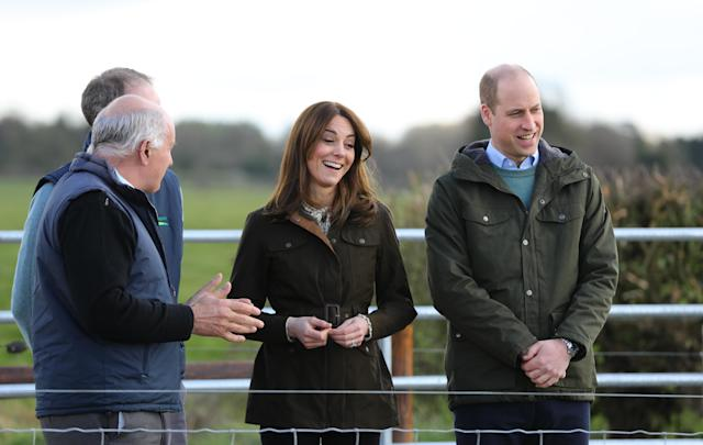 The Duke and Duchess of Cambridge will learn about the work being done on sustainability. (Press Association)