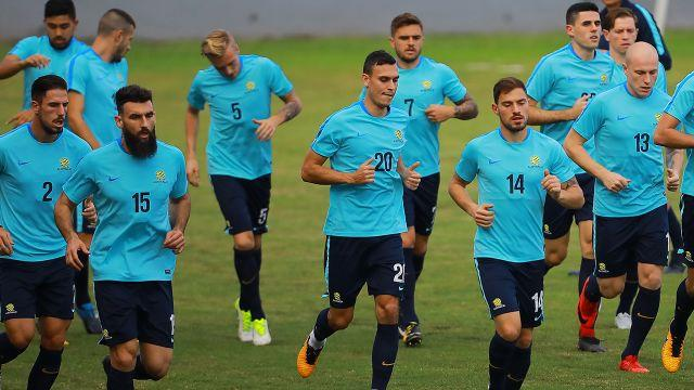 The Socceroos are ready. Image: Getty