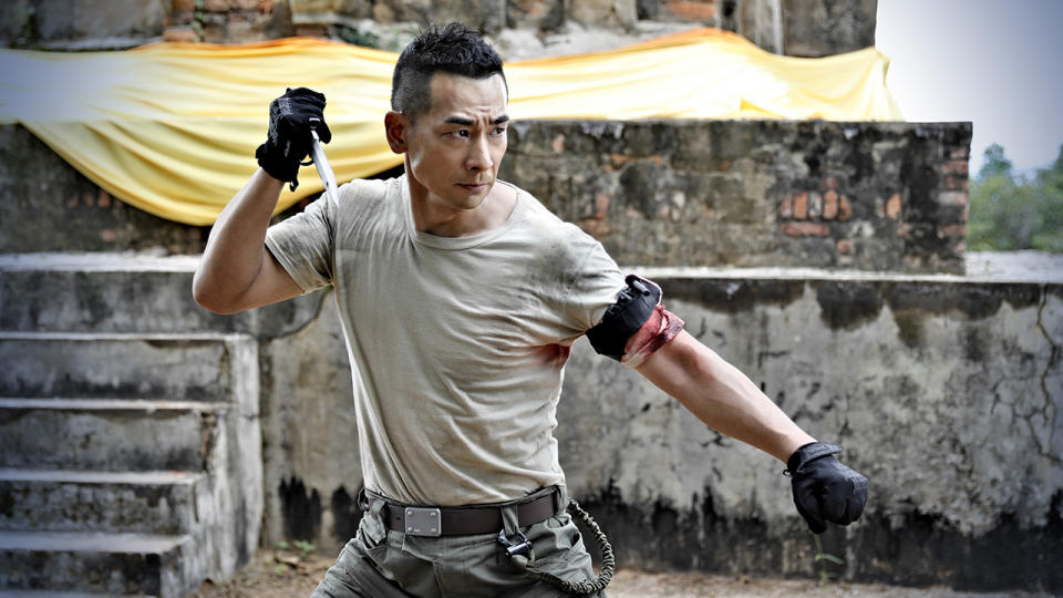 Vincent Zhao stars as Lu Ziming in Counterattack. (Photo: Golden Village Pictures)