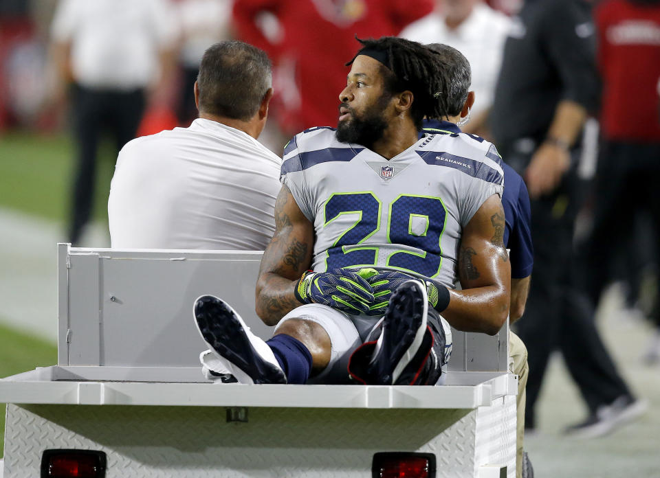 """While it may be a bit weird, given the way he left Seattle, Baltimore safety Earl Thomas said it's """"business as usual"""" ahead of their Week 7 matchup on Sunday."""