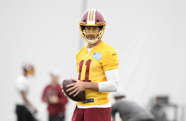Alex Smith might be the most underrated quarterback in fantasy football playing in a pass-friendly Washington offense (AP Photo/Nick Wass)