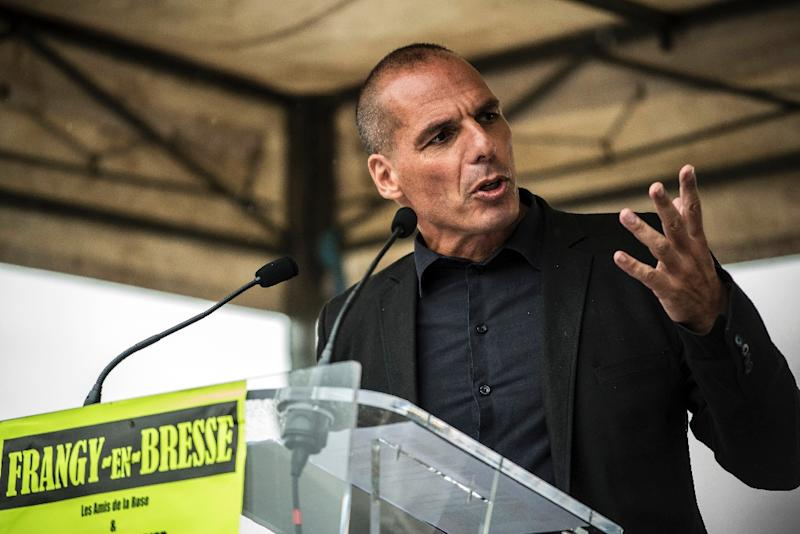 Former Greek Finance Minister Yanis Varoufakis said he would not be a candidate with Tsipras' party in the upcoming election (AFP Photo/Jean-Philippe Ksiazek)