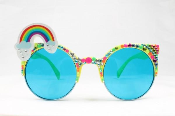 "<p>Look super cool in these rainbow rimmed sunglasses by Spangled. They are bound to bring you good festival vibes all summer long.<i><a href=""http://www.spangled.co.uk/product/spangled-rainbow-brow-wow-rims/#prettyPhoto""> [Spangled, £36]</a></i></p>"
