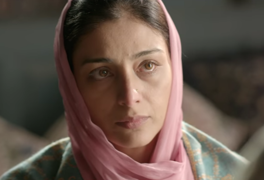 Only the cerebral Tabu could have done justice to the complexities of playing Shakespeare's Gertrude, a woman whose mind isn't easy to understand. Ghazala, too, drives the men in her life to despair -- her idealistic husband whom she doesn't permit to do his duty, her son who is struggling to make sense of his feelings for her, and her opportunistic brother-in-law from whom she extracts the highest price.
