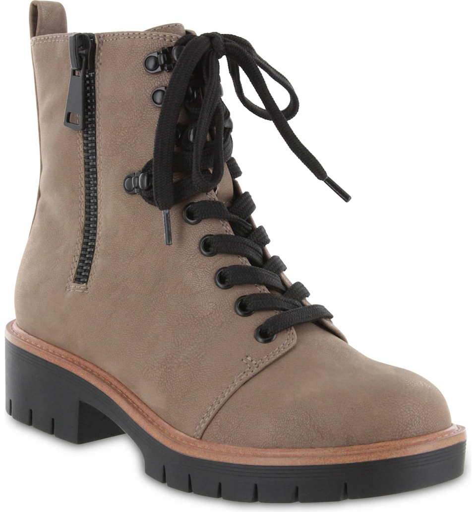 """<br><br><strong>Mia</strong> Lace-Up Boot, $, available at <a href=""""https://go.skimresources.com/?id=30283X879131&url=https%3A%2F%2Fwww.nordstrom.com%2Fs%2Fmia-lace-up-boot-women%2F5683902"""" rel=""""nofollow noopener"""" target=""""_blank"""" data-ylk=""""slk:Nordstrom"""" class=""""link rapid-noclick-resp"""">Nordstrom</a>"""